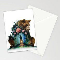 Flower & Bear Stationery Cards