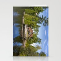michigan Stationery Cards featuring Michigan Cottage by davehare