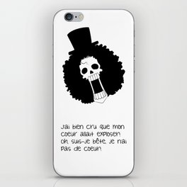 Blague de squelette 1 iPhone Skin