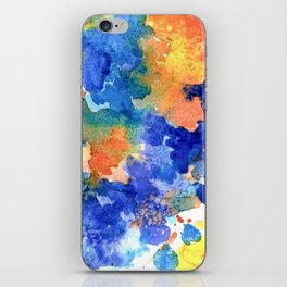 Watercolor 1 iPhone Skin