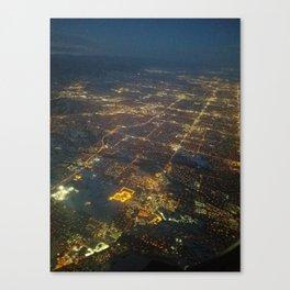 Denver in Plane Sight Canvas Print