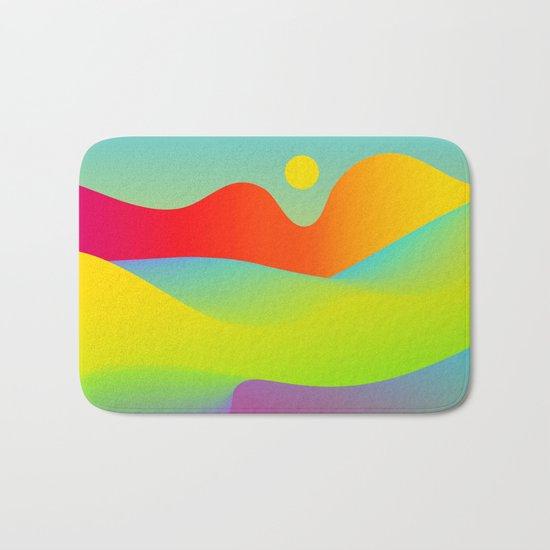 Abstract Desert Bath Mat