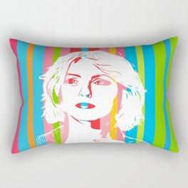 Blondie   Debbie Harry   Pop Art Rectangular Pillow