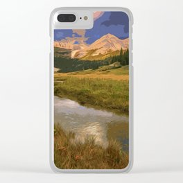 Glacier National Park in Autumn Clear iPhone Case
