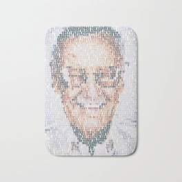 Stan Lee. Bath Mat