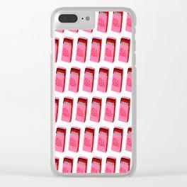 IT'S A MATCH Clear iPhone Case