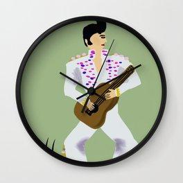 A Wannabe Elvis? Wall Clock