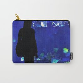 Blue Inspiration Carry-All Pouch