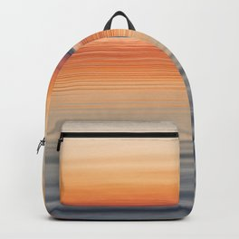 Ripples sea and sky Backpack