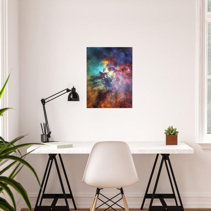 Lagoon Nebula Poster