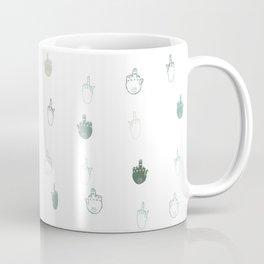 The finger Coffee Mug