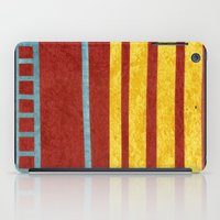 50s iPad Cases featuring 50s block colour 1 by Pagan Sovereign Studios