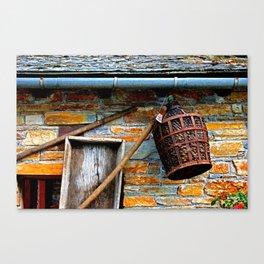 Old tavern Canvas Print