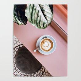 pink latte Poster