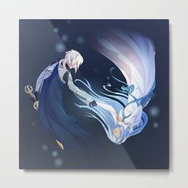 Fire Emblem Fates Kamui & Aqua Metal Print