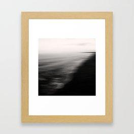 Flood. Abstract seascape. Framed Art Print