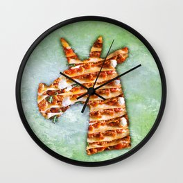 Unicorn Lasagna Wall Clock