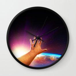 Extended Reach Wall Clock