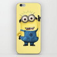 tim shumate iPhone & iPod Skins featuring It's Tim! by Harry Martin