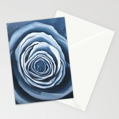 Blue Rose Stationery Cards