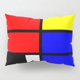 Mondrianista Pillow Sham