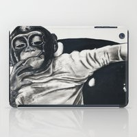 gangster iPad Cases featuring Original Gangster by Esau Rodriguez Art