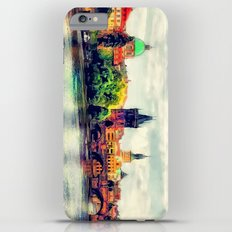 Prague panorama watercolor Slim Case iPhone 6 Plus