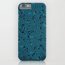 Reboot BLUE iPhone Case