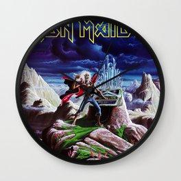 iron maiden album 2021 dede7 Wall Clock