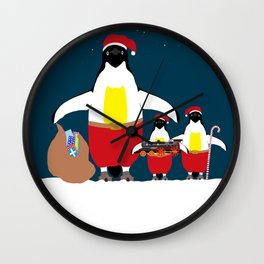 Santa's Little Helpers Wall Clock