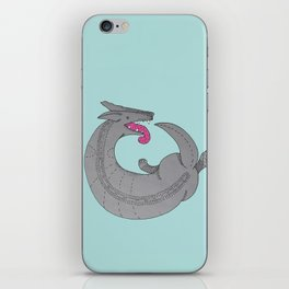 Never ending story iPhone Skin