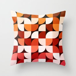 Abstract Composition 644 Throw Pillow
