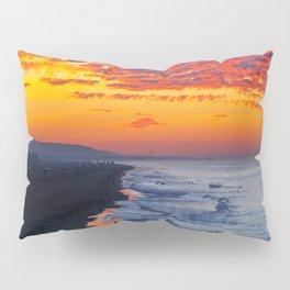 Sunrise Huntington Beach Pier   12/12/13 Pillow Sham