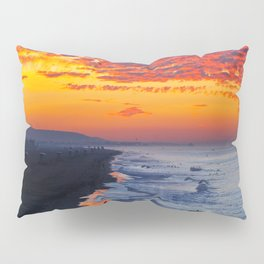 Sunrise Huntington Beach Pier   12/12/13 Pillow Sham