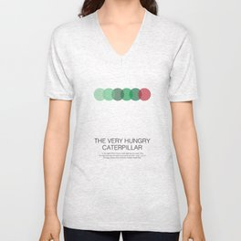 The Very Hungry Caterpillar Unisex V-Neck