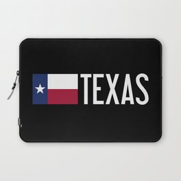 Texas: State Flag of Texas Laptop Sleeve