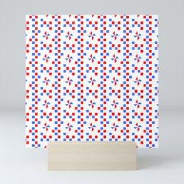 symmetric patterns 108 Mini Art Print