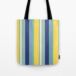 Sunny Beach Print Tote Bag