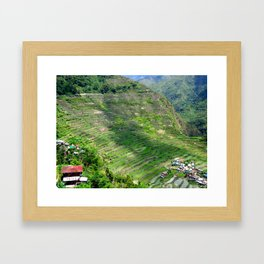 Batad Rice Terraces Framed Art Print
