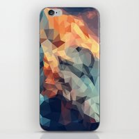 low poly iPhone & iPod Skins featuring Mountain low poly by Li9z