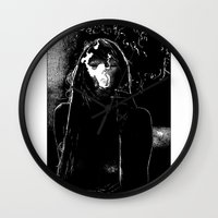 apollonia Wall Clocks featuring asc 400 - La fumerie (In the dens) by From Apollonia with Love