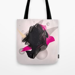 staple abstract Tote Bag