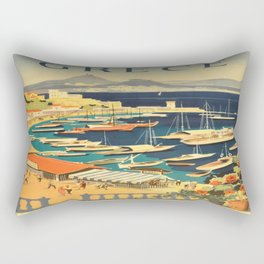 Vintage poster - Grece Rectangular Pillow
