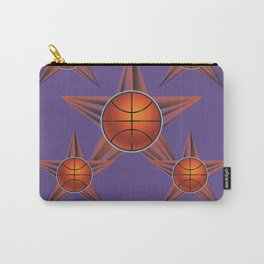 Basketball ball in the star Carry-All Pouch