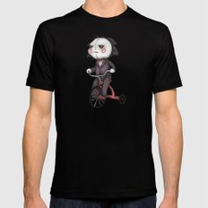 Billy The Puppet X-LARGE Mens Fitted Tee Black
