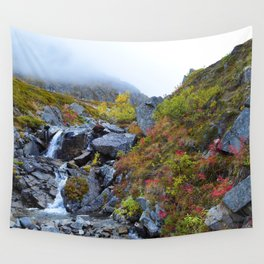 Independence Mine Waterfall Wall Tapestry