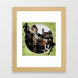 Jesper and Wylan - Unexpected Framed Art Print