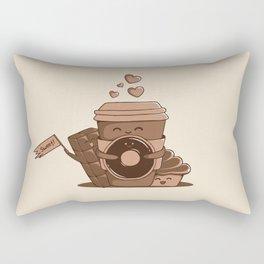Caffeinated Love Rectangular Pillow