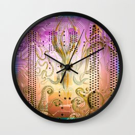 New Sucker on the Circuit Wall Clock
