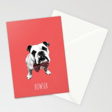 Red Bowser Stationery Cards